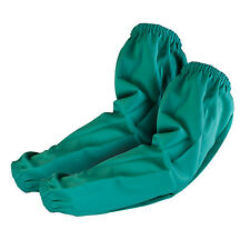 "Tillman 6200E 23"" 9 oz. Green Flame Resistant Welding Sleeves Elastic Wrist/Top"
