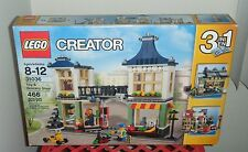 Lego Creator  31036 3 in 1 Toy & Grocery Shop 466 pcs Retired Set MNIB