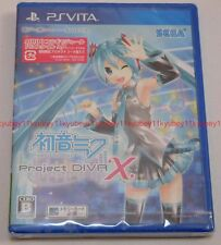 New PS Vita Hatsune Miku Project DIVA X Japan F/S PlayStation VLJM-35264 PSV