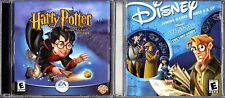 Harry Potter and the Sorcerer's Stone  (PC, 2001) & Disney's Atlantis TLE,TLG