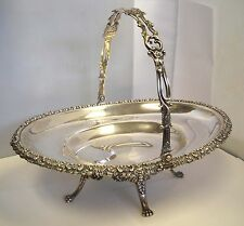 TIFFANY & Co STERLING SILVER UNIQUE VERY RARE ANTIQUE circa 1875   FRUIT BASKET