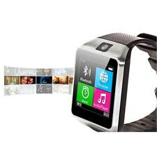 Aplus GV18 Bluetooth Smart Watch GSM NFC Camera Wrist Watch SIM Card Fr Phone ED