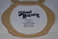 "MDF Speaker / Spacer Rings, 5x7"" / 6x8"" to 6.5"" X-Large 1/4"" Adaptor One Pair"
