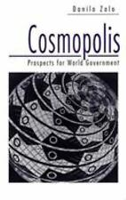 Cosmopolis : Prospects for World Government by Danilo Zolo (1997, Paperback)