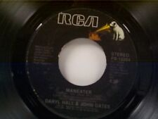 """HALL & OATS """"MANEATER / DELAYED REACTION"""" 45  MINT"""