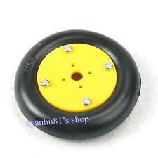 20 Kg De Carga De Goma Rueda Para Servos De Aluminio Robot Móvil coche Smart plataforma Neumático