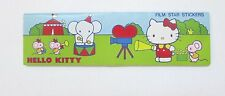 VINTAGE 1976 SANRIO HELLO KITTY FILM STAR STICKER SET UNUSED NO PLASTIC WRAP MIN