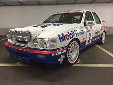 ford sierra rs cosworth gr.a mobil 1 autoglass 1992 decals stickers adesivi