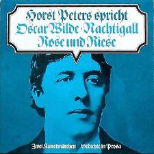 """Horst Peters spricht Oscar Wilde / """"Die Nachtigall und die Rose"""" - Vinyl LP"""