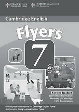 Cambridge Young Learners English Tests 7 Flyers Answer Booklet: Examination Pape