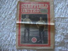 1989 Sheffield United - The Star Newspaper - Sheffield United Centenary Souvenir