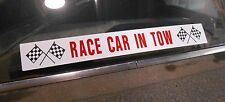 RACE CAR IN TOW WINDOW DECAL STICKER RAT ROD GASSER SUPER STOCK 55 56 57 CHEVY