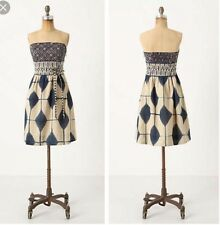 Anthropologie Magellan Voile Dress by Maeve, Size 6 Rare