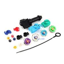 New Fusion Top Metal Master Rapidity Fight Rare Beyblade 4D Launcher Grip Set MT