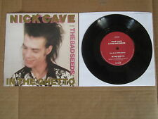 "NICK CAVE & THE BAD SEEDS In The Ghetto 7"" RARE BIRTHDAY PARTY ELVIS PRESLEY"