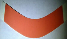 "Red Liner 1"" x 3"" Curved ""A"" strips ""108 total"" lace hairpiece wig toupee tape"
