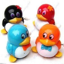 New Kids Children Lovely Funny Walk Penguins Clockwork Wind Up Party Toy