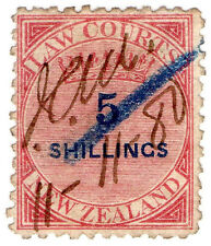 (I.B) New Zealand Revenue : Law Courts 5/-
