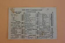 Prix train Hornby Dinky toys rails mecaniques electrique P1013 mistral 1957