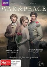 WAR And PEACE : TV Series : NEW DVD