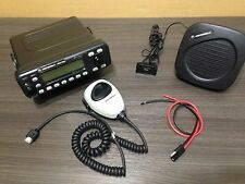 Motorola MCS2000 VHF Narrow band mobile radio W/ Programming Police Fire