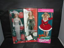 Holiday Hostess, Holiday Joy, Holiday Excitement Barbie