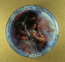 Soul Mates HEART'S DESIRE Native American Indian Plate #6 Lee Bogle Bradford Ex