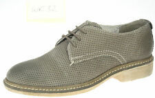 WRANGLER wr32 Ladies Donna Marrone Pelle Smart Casual Con Lacci Scarpe UK 4 EU 37