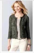NWT Ann Taylor LOFT Lurex Seed Stitch Sweater Jacket  M  $79.50