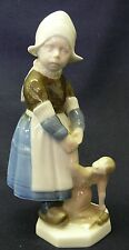 Rare ROSENTHAL Porcelain Figurine of a Dutch Girl and her doll Karl Himmelstoss