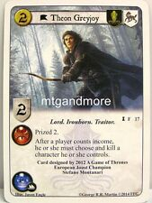 A Game of Thrones LCG - 1x Theon Greyjoy  #017 - Spoils of War