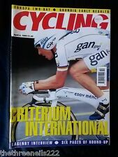 CYCLING WEEKLY - CRITERIUM INTERNATIONAL - APRIL 4 1998