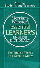 Merriam-Webster's Essential Learner's English Dictionary-ExLibrary