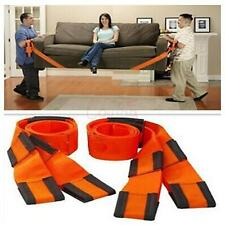 2PCs Free Shipping Furniture Moving Belt Team Straps Easy Package Heavy Lifting