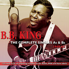 BB KING New Sealed 2017 COMPLETE SINGLES As & Bs 1949-62 5 CD BOXSET