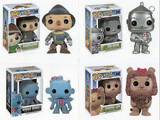 "Funko WIZARD OF OZ 4PC 3.75"" POP SET RETIRED TIN MAN SCARECROW LION & MONKEY"