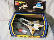 Corgi - No. 647 - James Bond Moonraker Space Shuttle - arv
