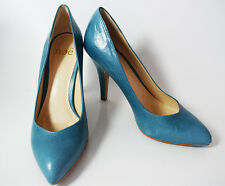 Noe High Heel Women Pumps Court Shoes Blue (Celeste) UK 5 / EU 38