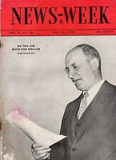 1935 Newsweek May 18-chain letters begin; Hitler meets Blomberg; Pulitzer Prizes