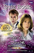 NEW the SARAH JANE ADVENTURES - QUIZ BOOK -   dr DOCTOR WHO