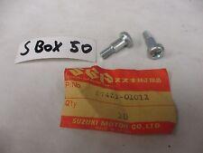 NOS Suzuki DS80 B100 RV90 TS90 Lever Bolts 57431-01011 Set Of 2