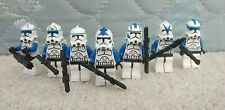 Lego Star Wars Custom Minifigures 501 Legion Clone Trooper lot Echo Fives Tup