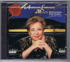ALICIA DE LARROCHA CD NEW MOZART SONATAS K 309,310,311,330