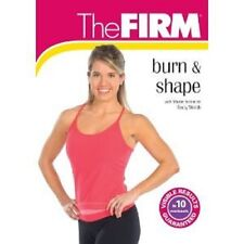 The Firm BURN and & SHAPE (DVD) cardio exercise workout cardio sculpting  NEW