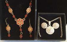 Avon Two Sets Necklace and Earrings Jewelry Sets
