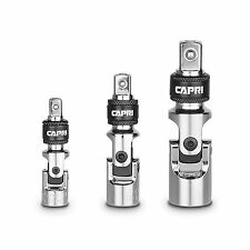 Capri Tools Quick Release Universal Joint Set, 3-Piece