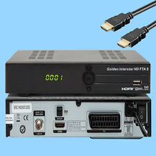 HDTV Satellite Receiver FTA S GM Buy Cheap Full HDTV HDMI SCART Black