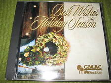 Vintage BEST WISHES THIS HOLIDAY SEASON CD GMAC Real Estate 201