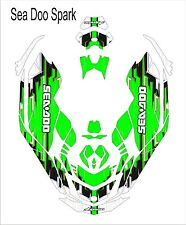 Sea-Doo Bombardier Spark 2 3 Jet Ski Graphic Kit Wrap Jetski pwc decals wrap gre