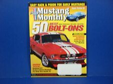 Mustang Monthly,October 2004,50 Best Bolt-Ons Rack & Pinion Early Mustangs
